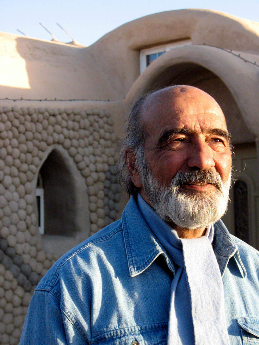 Learn About Nader Khalili The Inventor Of Superadobe Method